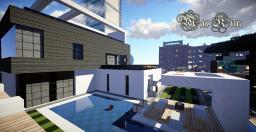 【MaxKim】Modern House Minecraft Map & Project