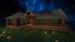 Kirito and Asuna's lakehouse from Floor 22 Minecraft Map & Project