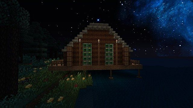 Kirito and Asuna s lakehouse from Floor 22 Minecraft Project