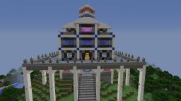 Hilltop Manor Minecraft Map & Project