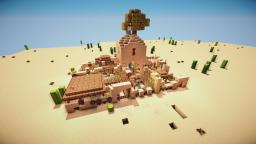 Desert-House + Video Minecraft Map & Project