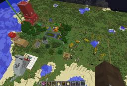 The Farm Minecraft Map & Project