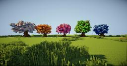 Bright Fantasy Trees - [Small Download Bundle] Minecraft