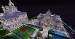Spa castle cité Minecraft Map & Project