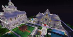 Spa castle cité Minecraft Project