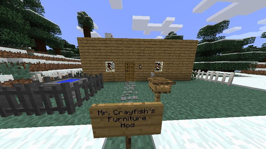 Mr CrayFishs Furniture 172 Mod Review Minecraft Blog