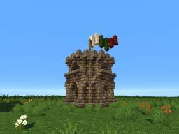 Small Castle Tower Minecraft Map & Project
