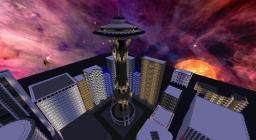 Space Needle Minecraft Project