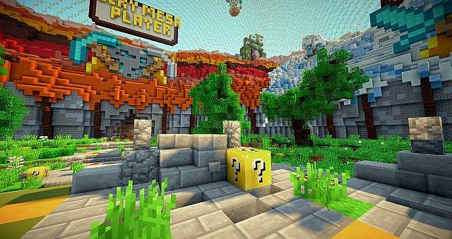Lucky Block Lucky Block Wars Mini-game