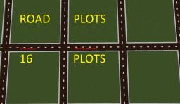 [Plotworld] The Roaded Plots [16 Plots] [Schematic and worlddownload] Minecraft Map & Project