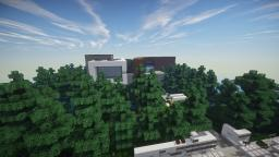 Supermodern/Minimalist House Minecraft Project
