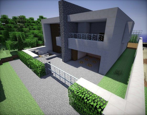 Casa moderna by joel minecraft project for Casa moderna minecraft 0 10 4