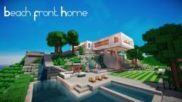 Hill side Contemporary estate. Minecraft Map & Project