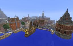 Strandborg - Baroque Swedish Town Minecraft Map & Project