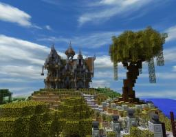 Rustic/Gothic Manor Minecraft Map & Project