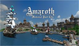 | Amaroth - Medieval Port City | Minecraft