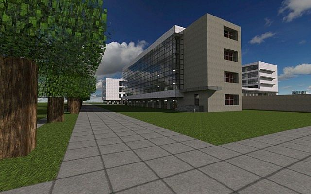 bauhaus school of architecture modernist build minecraft project