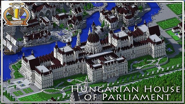Hungarian House of Parlament