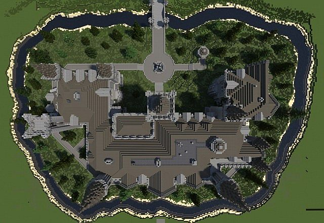 Belgian Chateau Minecraft Project