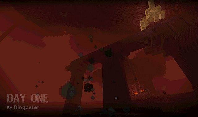 The shadowy Nether.
