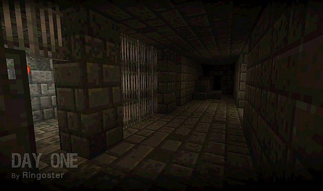 Inside the depths of a stronghold.