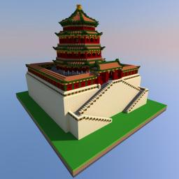 Tower of Buddhist Incense Minecraft Project