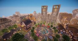 Kingdom of Avalon (A Medieval City) Minecraft Map & Project