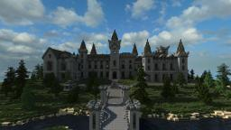 Belgian Chateau Minecraft Map & Project