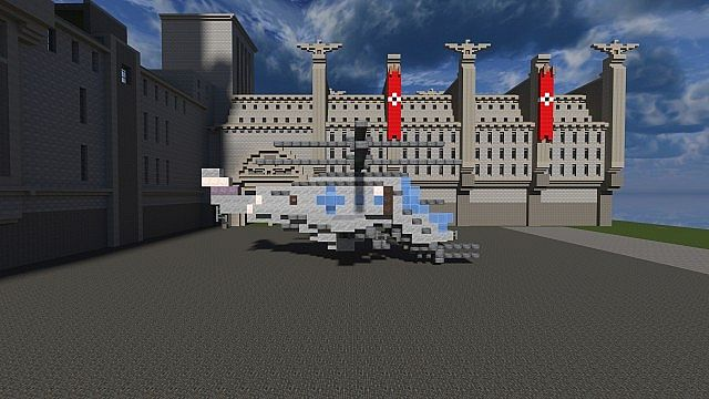 Wolfenstein: The New Order +| Helicopter |+ [Download] Minecraft Project