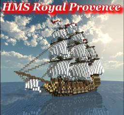British Man o' War: HMS Royal Provence Minecraft