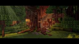 Rhosgobel - the House of Radagast the Brown Minecraft Project