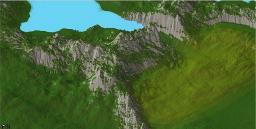 Mountains of Desolation [Custom Terrain] Minecraft