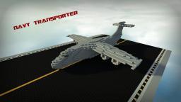 Navy Transporter Airplane Minecraft