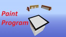 Painter and Animator program! Minecraft Map & Project