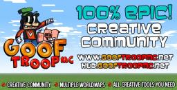 Goof Troop MC Creative Minecraft Server