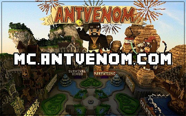 The AntVenom Network Server!