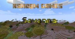 Random games - Savanna Minecraft Map & Project