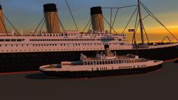 Nomadic (Titanic tender) Minecraft Project