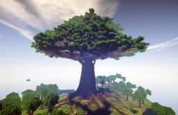 Mother of trees | Town included Minecraft