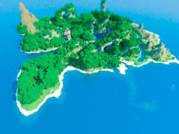 [Map] — Mirlandia — Beautiful Island! Minecraft