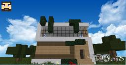 Void-Modern House Minecraft Map & Project