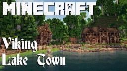Viking Lake Town Minecraft Map & Project