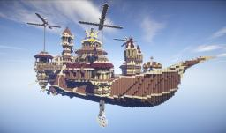 Crafti.ca - Theater Airship M.S. Prima Vista Minecraft Project