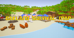 Oakland Survival Map Minecraft Map & Project