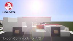 Holden VF Commodore   V8 Supercar Minecraft Map & Project