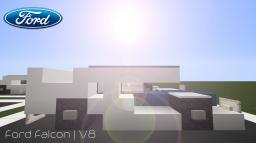 Ford Falcon   V8 Supercar Minecraft Map & Project