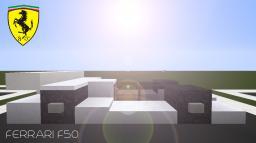 Ferrari F50 | Minecraft Vehicles Minecraft Map & Project