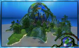Server Spawn (nature / planet earth) By Katariawolf  Download 10.07.2013 Minecraft Map & Project