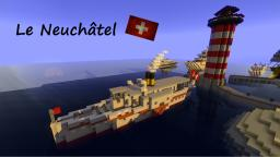 Le Neuchâtel - swiss steam boat Minecraft Map & Project