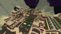 Azmar (Desert island village) Minecraft Map & Project